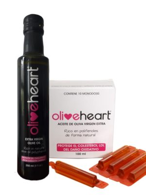 Oliveheart polyphenol rich olive oil